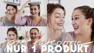 NUR EIN PRODUKT PRO KATEGORIE | Holy Grail Products & All Time Favorites
