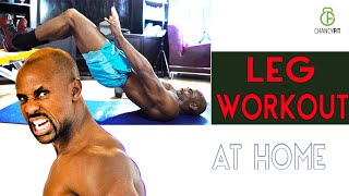 LEG WORKOUT AT HOME WITH DUMBBELL ONLY