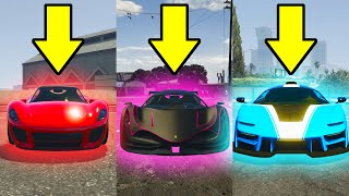 What Is The Fastest Super Car In GTA 5? (Part 1)