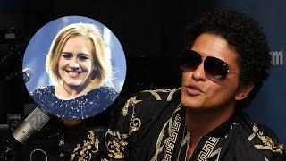 Bruno Mars Reveals He & Adele Butted Heads Over WHAT Lyric