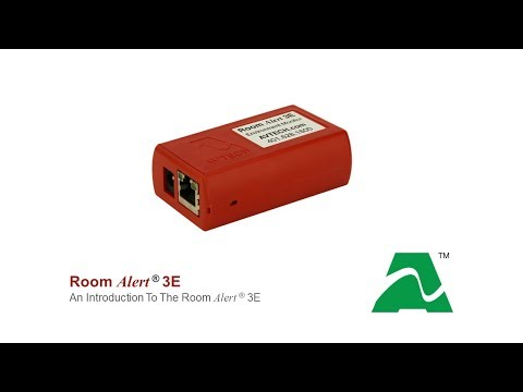 AVTECH Room Alert 3E: Introduction
