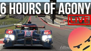 iRacing - 6 Hours Of Avoiding Disqualification   iELMS @ COTA