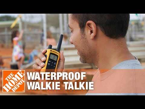 Motorola Talkabout MS350/355 Waterproof Walkie Talkie