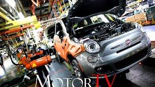 CAR FACTORY : 2017 FIAT 500 PRODUCTION l  Toluca Assembly Plant (Mexico)