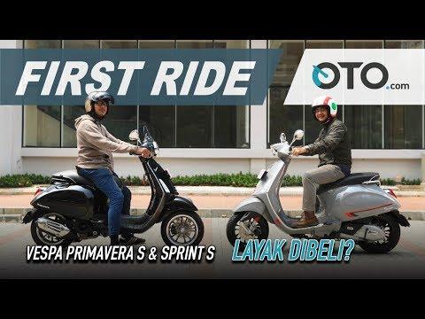 Vespa Primavera S & Sprint S 2019 | First Ride | Tambah Mahal, Tambah Bagus? | OTO.com