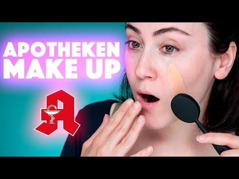 HEFTIGSTE FOUNDATION aus der Apotheke 🤯   Full Face Using Only Apotheken Makeup   Hatice Schmidt