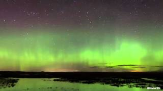 Northern Lights - Dunbar Scotland 6th March 2016