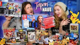 EVERYTHING We Bought in JAPAN! (Nintendo Switch, Pokemon, Games, Toys)