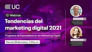 Webinar I Tendencias del Marketing Digital 2021