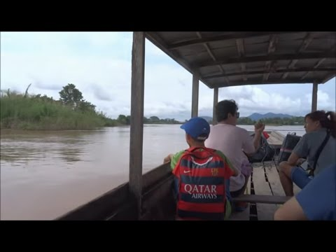 Pakse to Don Det  Laos, by Bus and Boat