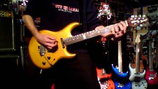Steve Lukather Flash in The Pan Guitar Cover
