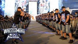 تحميل اغاني An army of John Cenas make their WrestleMania entrance: WrestleMania 25 MP3