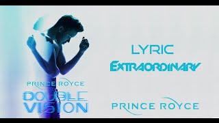 Prince Royce - Extraordinary (Lyric Video)(Letra)