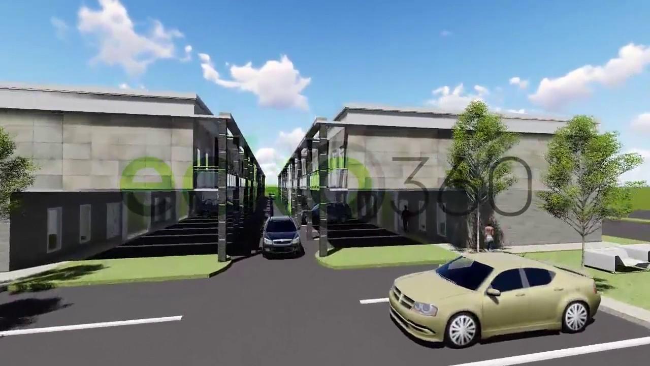 3D walkthrough video 1 apartment complex