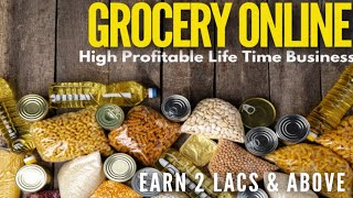 9625478571 Online groceries business plan | Start your own business