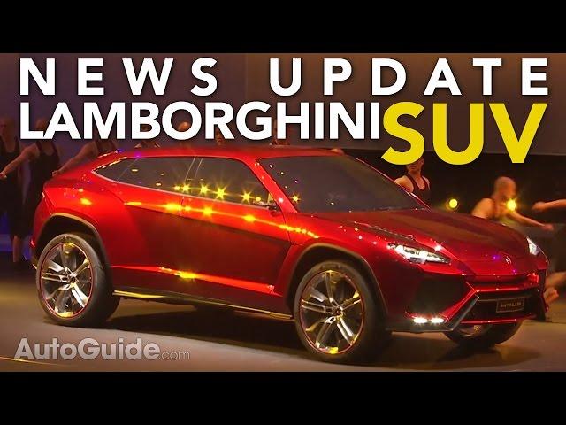 Lamborghini Urus Hybrid, Subaru BRZ STI, Nissan Qashqai Coming: Weekly News Roundup - Ep. 6