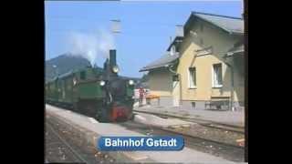 preview picture of video 'Fahrt auf der Ybbstalbahn mit der Yv2'