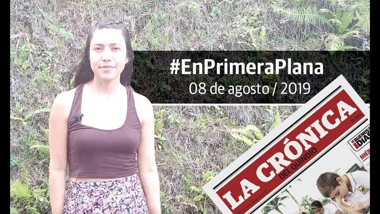 En Primera Plana: lo que será noticia este viernes 9 de agosto