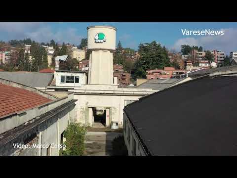 Dentro l'area dell'ex Aermacchi a Varese