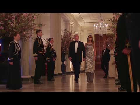 The President and First Lady Host a State Dinner for President Macron & Mrs. Macron