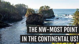 Exploring the Olympic Peninsula   Cape Flattery, Hurricane Ridge, Mount Ellinor, & Murhut Falls