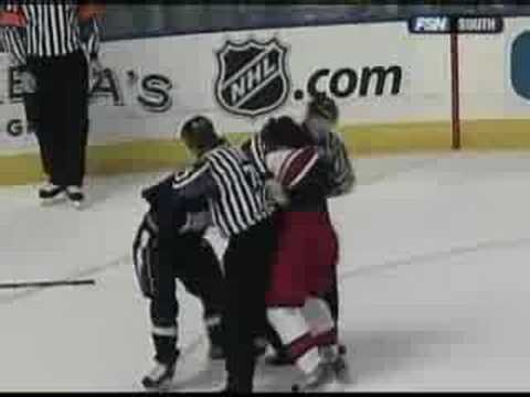 Brad Richards vs. Justin Williams