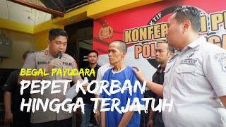 Video Pelaku Begal Payudara di Tegal Ditangkap, Polisi: Ia Juga Tak Segan Aniaya Korban