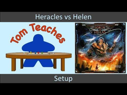 Tom Teaches Lords of Hellas (Setup)