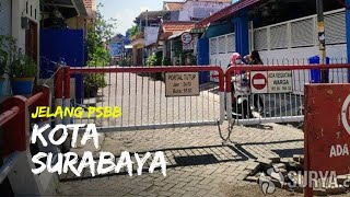 Jelang Pemberlakuan PSBB Kota Surabaya, Kampung Karangrejo Sudah Siap dengan Tutup Akses Jalan