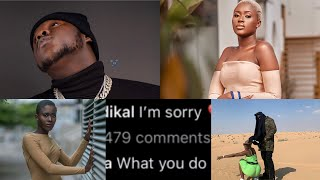 Medikal Begs Fella Makafui As She Deletes All Pictures