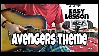 Avengers Theme Guitar Lesson in Hindi. Easy lesson for beginners.Avengers endgame theme on guitar.