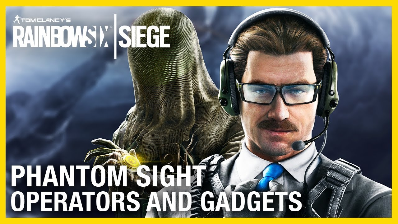 Rainbow Six Siege – Operation Phantom Sight Operator and Map