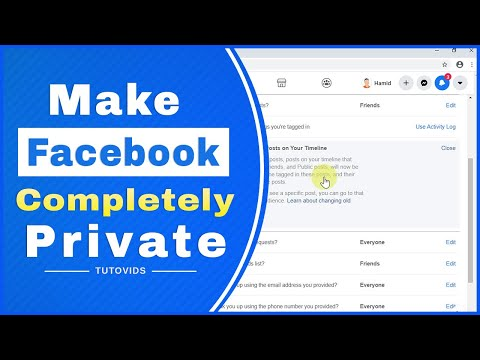 How To Make Your Facebook Account Completely Private