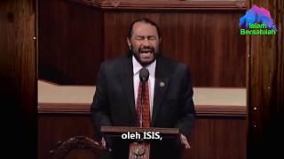 Salut 👍 Ketika Anggota Kongres Beragama Kristen Membela Islam Di Amerika 👍 Sub Indonesia