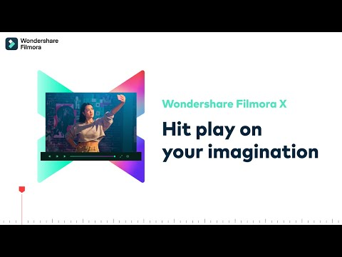 Filmora X video editing tutorial for beginners   Getting started with Filmora9 Designed for Beginners