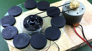 New free energy brushless motor generator 100% working , science project experiment 2019