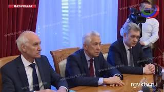Руководству Дагестана представили врио командующего Северокавказским округом Росгвардии