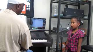 Harmony Bailey Takes Voice Lessons  Willie Norwood!