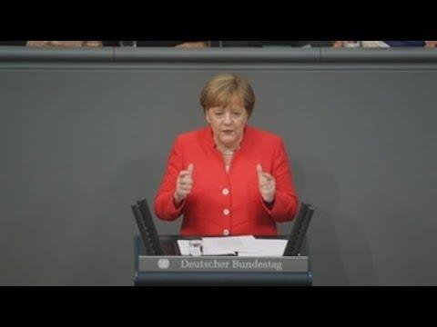Merkel reitera que la migración es un reto decisivo para Alemania y Europa