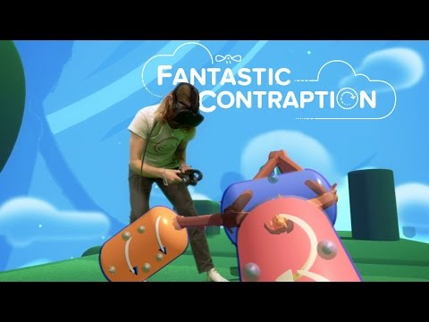 Fantastic Contraption 1 minute of Mixed Reality Gameplay Footage!
