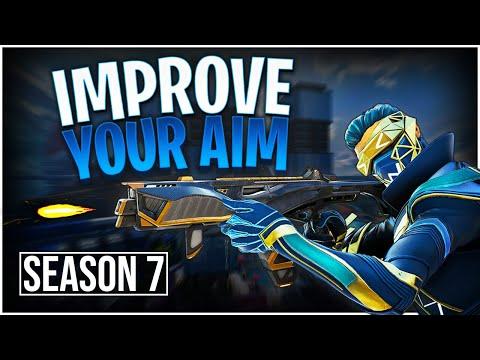 Improve Your AIM in Apex Legends Season 7! (Custom Aim Training ...