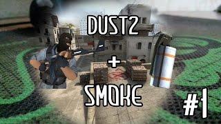 Tactic grenades \ Раскидка гранат de_dust2 (smoke) CS:GO