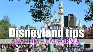 Disneyland Tips - CALIFORNIA