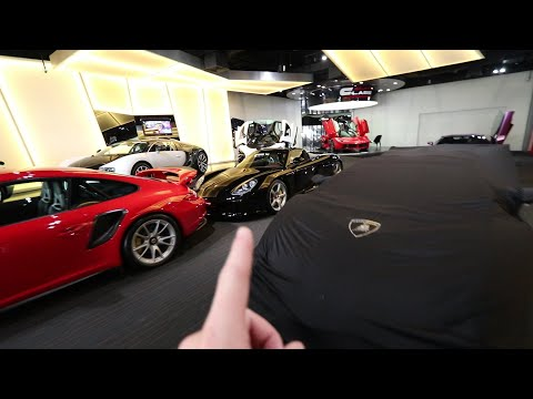 Finding a Mysterious $5Million Lamborghini 🤫