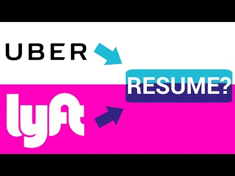 Should You Include Uber & Lyft On Your Resume?