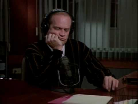 Frasier Crane always threw the best shade