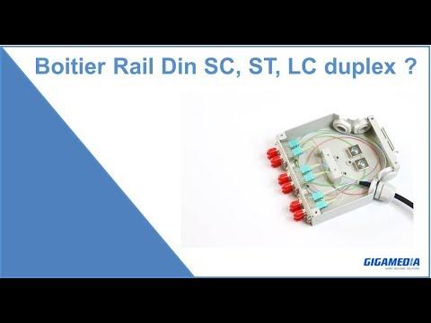 BOITIER OPT 6LC DX MM RAILDIN