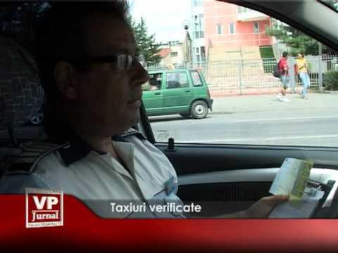 Taxiuri verificate