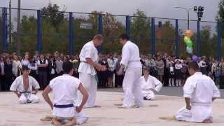 Показательные выступления киокушинкай каратэ