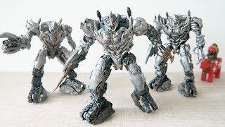 小不高兴和他的小伙伴们——Studio Series 31 Megatron Battle Damaged 威震天 (战损版)